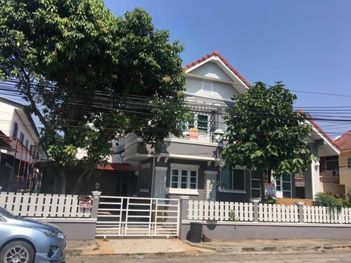 ขายบ้านเดี่ยว 2ชั้น 50ตารางวา หมู่บ้านแสงธรรม ถนนสุขาภิบาล 5 ซอย 57
