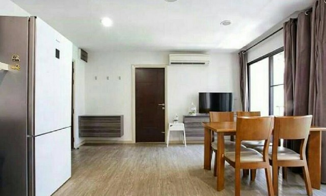 VLS001 ให้เช่าคอนโด Villa Lasalle Sukhumvit 105 58ตรม. 2ห้องน้ำ 2ห้องนอน วิวสระ ของครบ