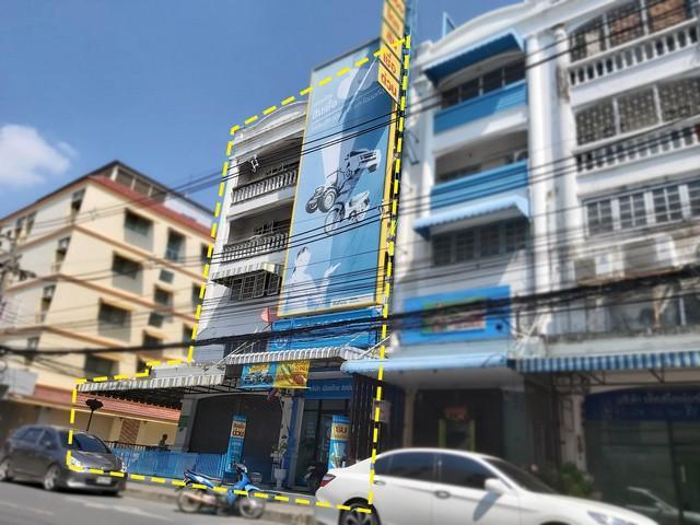 ขายอาคารพาณิชย์4.5ชั้น2คูหา ห้องมุม ซอยงามวงศ์วาน47แยก44 (ซอยชินเขต2/42) ใกล้ ม.ธุรกิจบัณฑิต