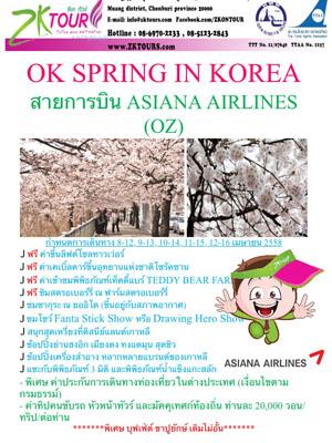 OK SPRING IN KOREA
