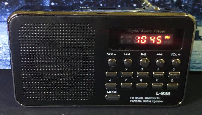 ขาย วิทยุ FM MP3 L-938