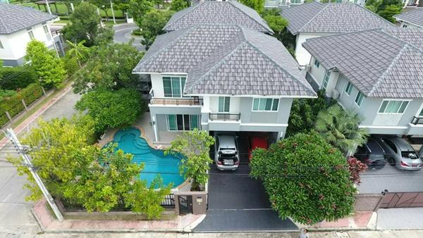 ขายบ้านเดี่ยว พร้อมสระว่ายน้ำ 76 ตรว. เป็นแบบบ้านใหญ่สุดของโครงการ 0818679467