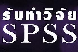 รับปรึกษาทำงานวิจัย วิทยานิพนธ์ แผนธุรกิจ รายงานวิชาต่างๆ และประมวลผลโดยโปรแกรม SPSS s2