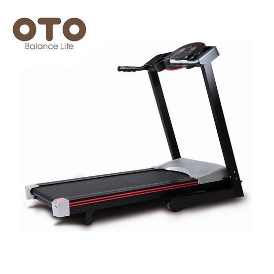 OTO ลู่วิ่งไฟฟ้า Treadmill รุ่น SR-1200 สีดำ