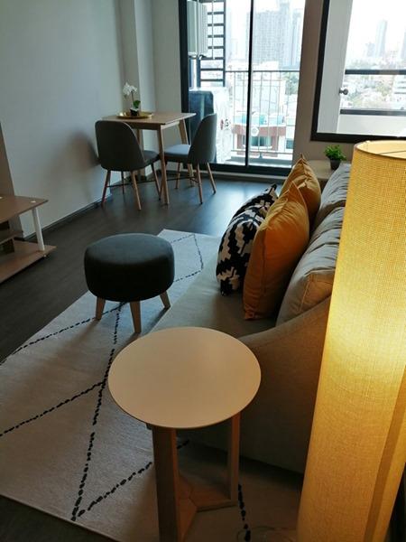ให้เช่า คอนโด  IDEO SUKHUMVIT 93 ใกล้  BTS บางจาก ขนาด 35 ตารางเมตร ชั้น 12 รูปแบบ 1 ห้องนอน