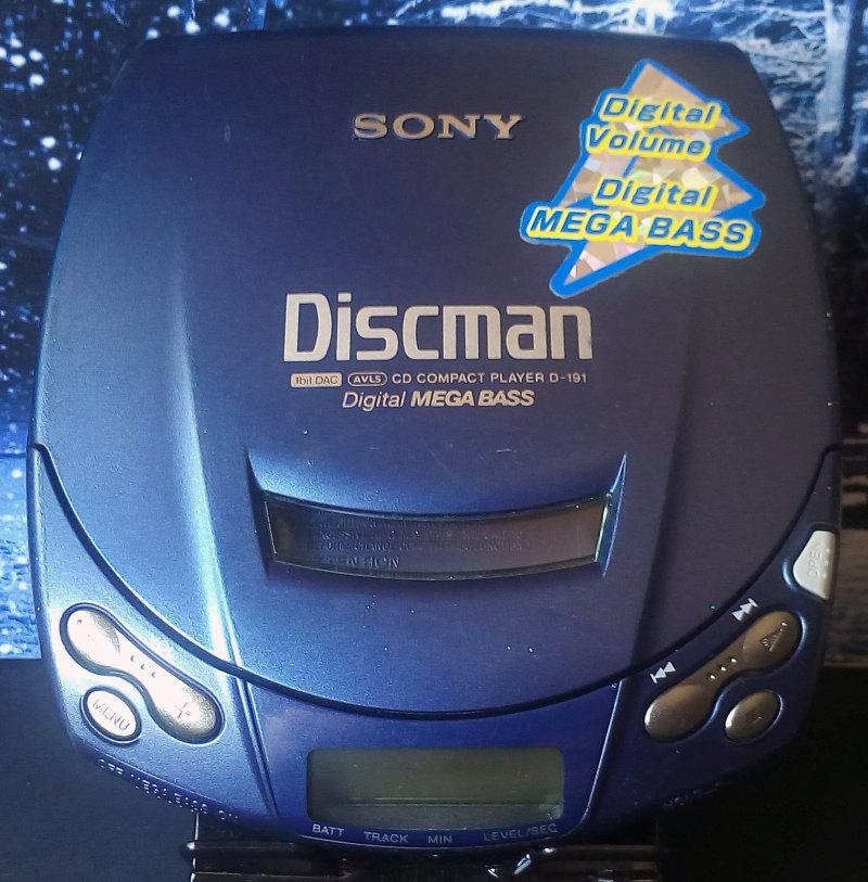 CD Walkman Sony D-191 มือสอง