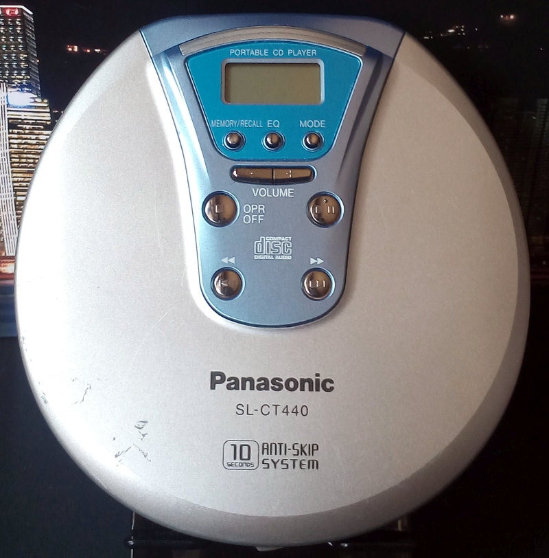 CD Walkman Panasonic SL-CT440 มือสอง