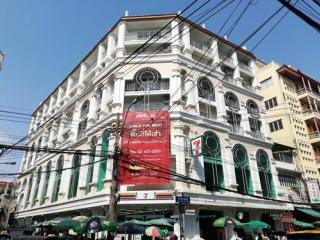 สเตชั่น วัน พื่นที่เช่าและที่พักอาศัย ติดถนนเจริญกรุง และใกล้ MRT วัดมังกร ราคาดีเหมาะแก่การลงทุน