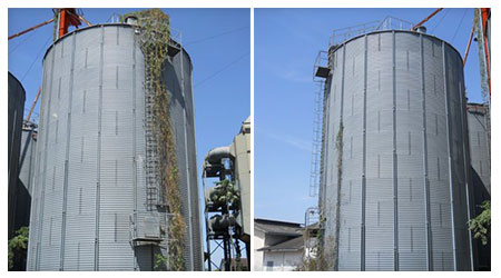 Silos for sale in excellent condition