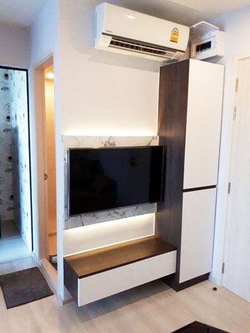 LFA009 ให้เช่าคอนโดใหม่ห้องสวย Life Asoke ชั้น9 30ตรม. ทิศใต้ วิวสระ เฟอร์ครบ