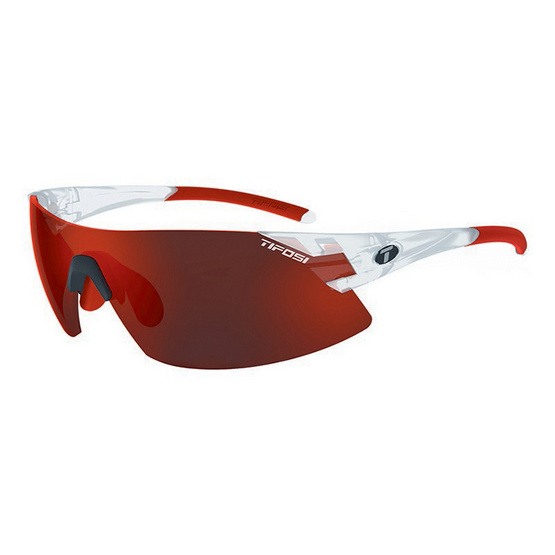 Tifosi แว่นกันแดด รุ่น PODIUM XC Matte Crystal (Clarion Red/AC Red/Clear)