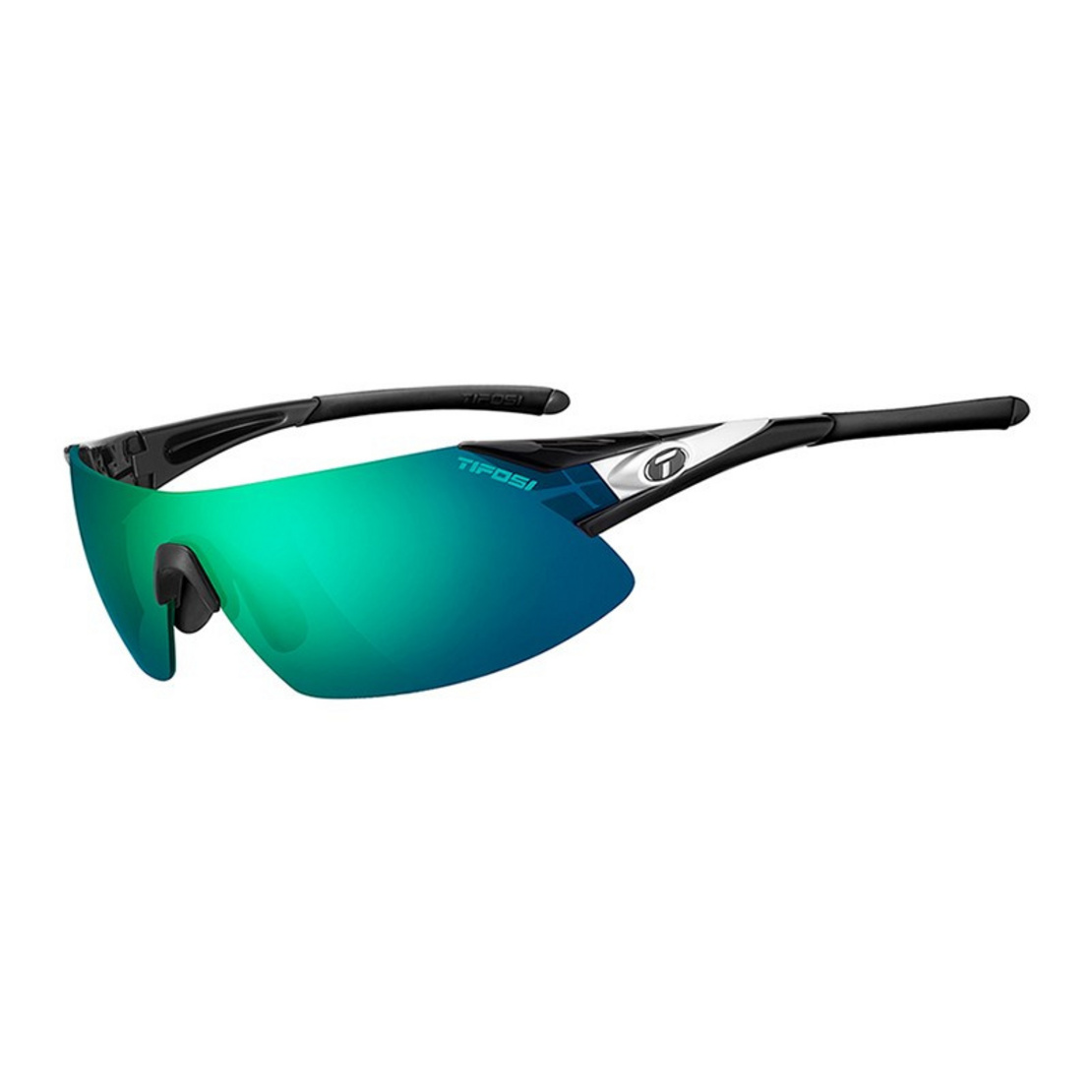 Tifosi แว่นกันแดด รุ่น PODIUM XC Black/White (Clarion Green/AC Red/Clear)
