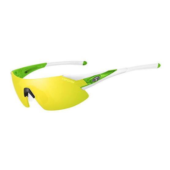 Tifosi แว่นกันแดด รุ่น PODIUM XC White/Green (Clarion Yellow/AC Red/Clear)