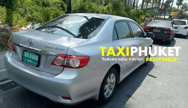 แท็กซี่ภูเก็ต บริการรับส่งสนามบินภูเก็ต ในเมือง ป่าตอง