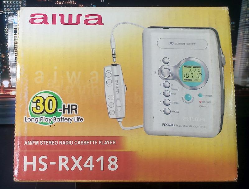 ซาวน์เบาท์ aiwa HS-RX418 มือหนึ่ง ของใหม่