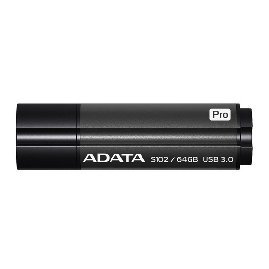 ADATA Flash Drive S102PRO USB 3.1 Speed 90MB/s 64GB