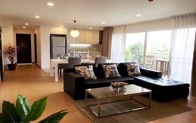 อพาร์ทเม้นท์ให้เช่าสุดหรูขนาด 120 ตรม. 2 ห้องนอน ใจกลาง เอกมัย 10 ราคาพิเศษ
