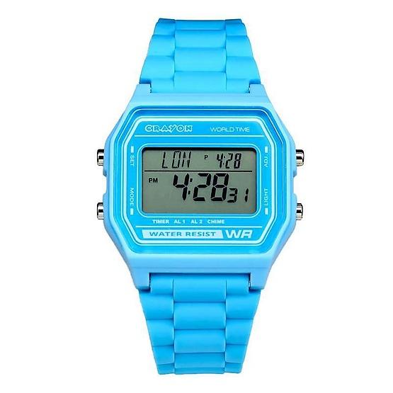Crayon นาฬิกาข้อมือ รุ่น CR3.178-BLUE