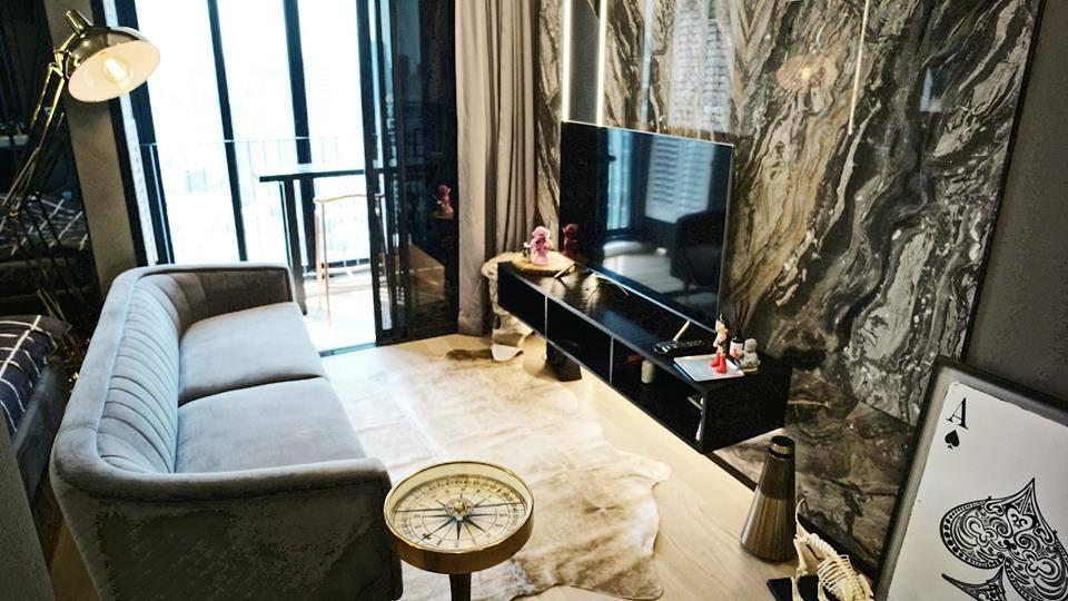 คอนโดให้เช่า Ashton Chula - Silom 1 นอน  35 ตรม. ห้องใหม่ตกแต่งสวยพร้อมอยู่
