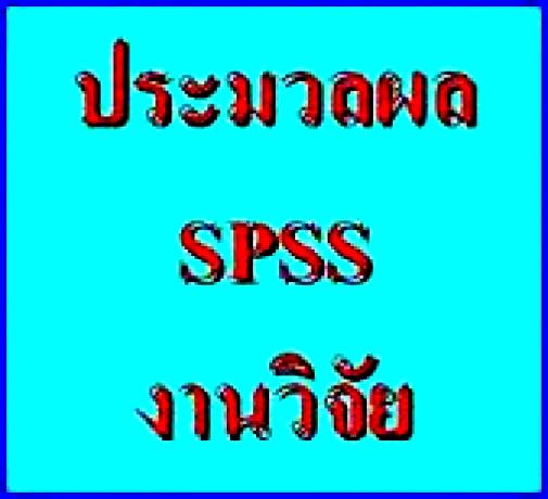 รับปรึกษาทำงานวิจัย วิทยานิพนธ์ แผนธุรกิจ รายงานวิชาต่างๆ และประมวลผลโดยโปรแกรม SPSS 136yy