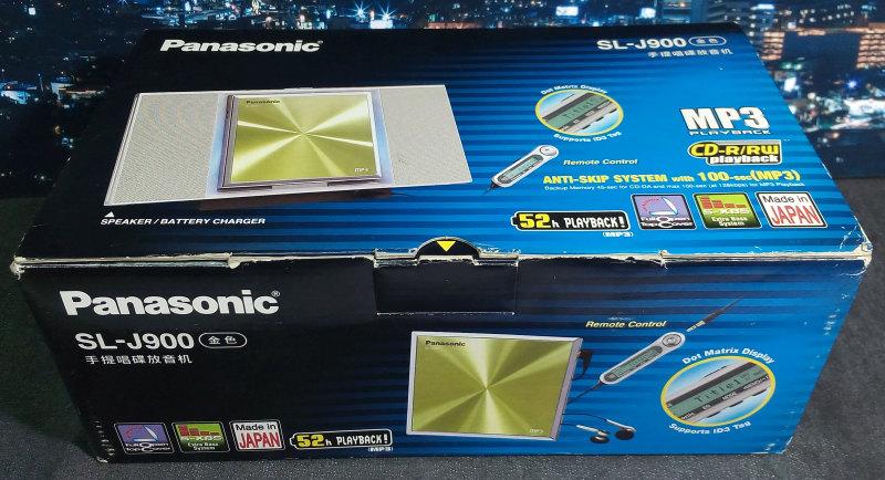 CD Walkman Panasonic SL-J900 มือหนึ่ง ของใหม่