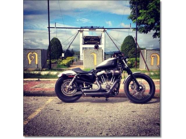 ขายฮาเล่ย์ มือสอง Harley sporter nighter ปี 09 สเปคอเมริกา