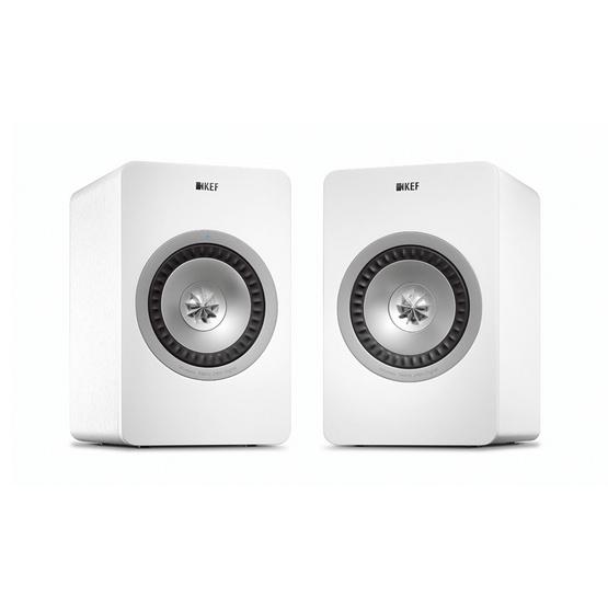 KEF ลำโพง Bookshelf X300A Wireless WHITE