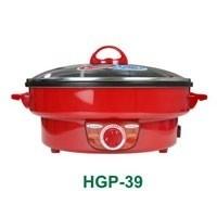 HANABISHI กระทะไฟฟ้า HGP-39 สีแดง