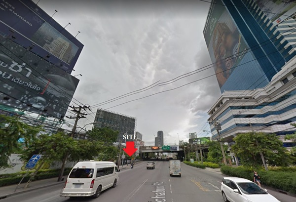 ให้เช่าที่ดิน ติดถนนเพชรบุรี 37 เนื้อที่ 252 ตารางวา กว้างติดถนน 40 เมตร ลึก 28 เมตร