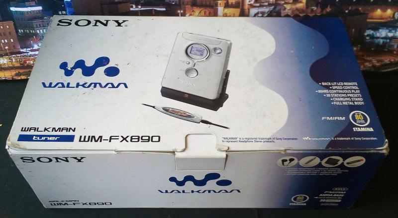 ซาวน์เบาท์ เทป Sony Walkman WM-FX890 ของใหม่ มือหนึ่ง