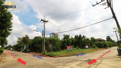 ขายที่ดิน เมืองเอก รังสิต พหลโยธิน ปทุมธานี แปลงมุม 249ตร.ว.ใกล้รถไฟฟ้า ถมแล้ว ราคา 39,000 บาท/ตร.ว.