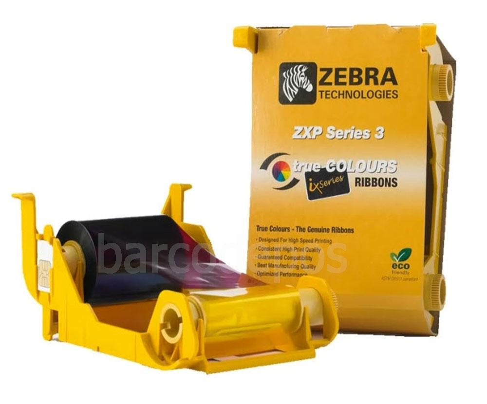 Zebra 800033-840 Colours Ribbon ZXP Series 3 YMCKO 200 IMG - ริบบอนเครื่องพิมพ์บัตร - หมึกสี - ใช้กับเครื่องพิมพ์บัตรรุ่น ZXP3 - สามารถพิมพ์ได้ 200 ใบ