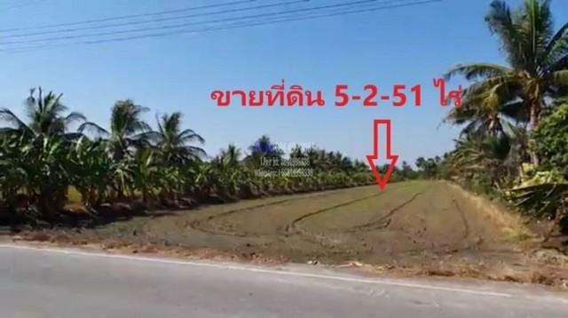 ขายที่ดิน 5 -2-51ไร่ ใกล้ ทล#340 สายบางบัวทอง-สุพรรณบุรี