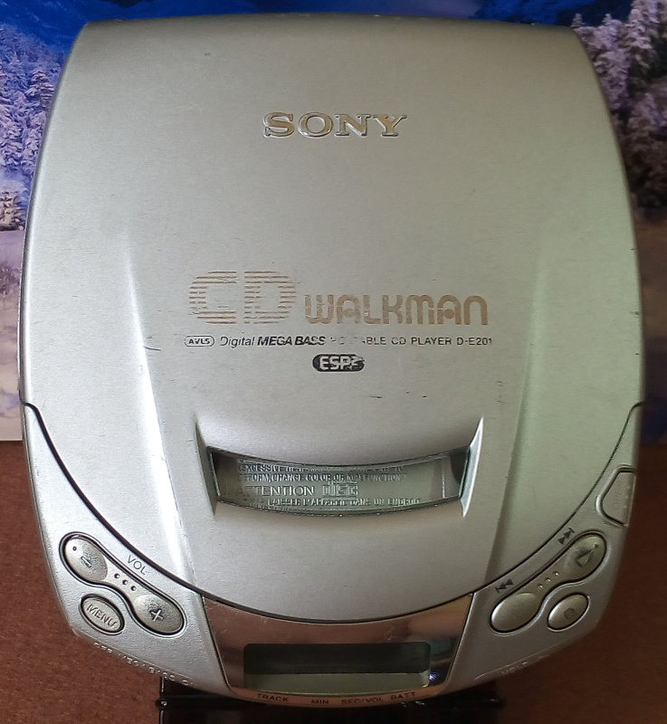 CD Walkman Sony D-E201 มือสอง