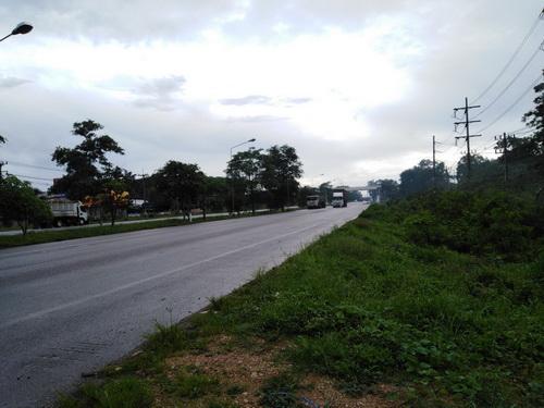 ขายที่ดินเปล่า ขนาด 5 – 0 – 25 ไร่ ติดถนนสายหลักเอเชีย ตำบลทุ่งสง  อำเภอนาบอน   จังหวัดนครศรีธรรมราช