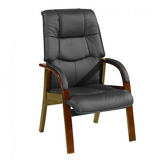 AS Furniture เก้าอี้ผู้บริหาร หนังฮันนาน (HANNAH) สีดำ