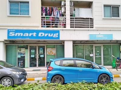 P ขาย คอนโด The Smart พระราม2 ขนาด 53ตรม ชั้น1 แ่บงเป็นร้านค้า 2ห้อง