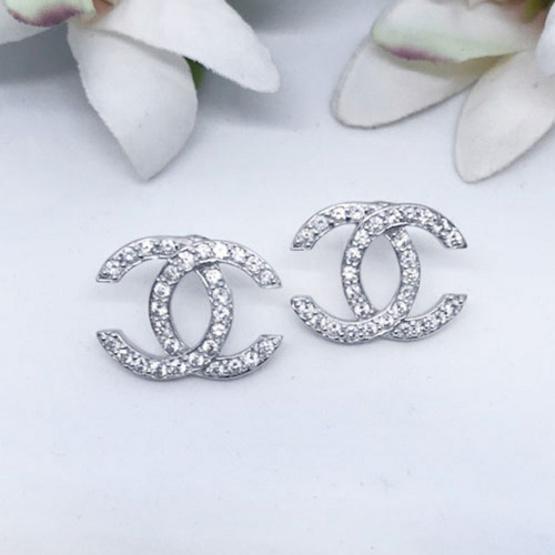 Winnie Jewelry ต่างหู ไดมอนด์ซี