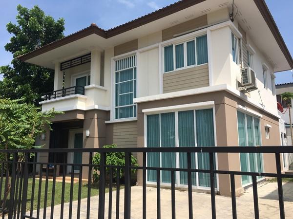 ขายบ้านใหม่ พฤกษา81 เซเรนิตี้ เจ้าของขายเอง ในตัวบ้านกว้าง 58 ตรว. พื้นที่ใช้สอย 189 ตรม.